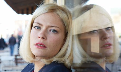 Susannah Cahalan, photographed in Union City, New Jersey. Photograph: Mike McGregor for the Observer