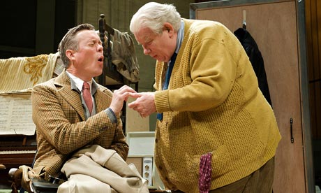 The Habit of Art Alex Jennings and Richard Griffiths in The Habit of Art