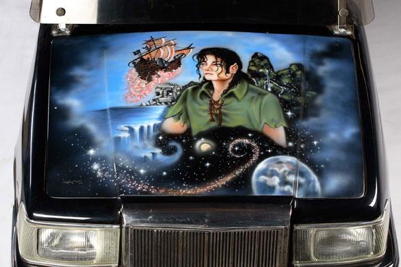 Michael Jackson's auction: Michael Jackson's golf cart