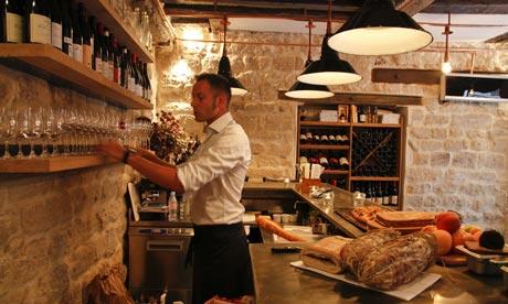 """Primeira fotogarfia publicada no artigo Os 10 melhores """"Bars à Vins"""" (Wine Bars) de Paris!"""