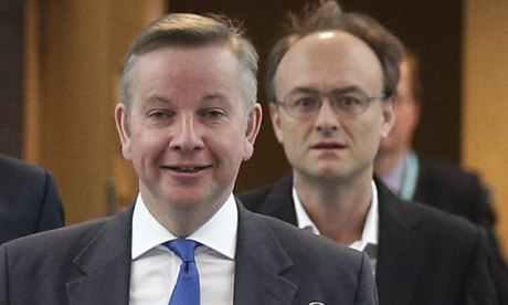 Michael Gove and Dominic Cummings
