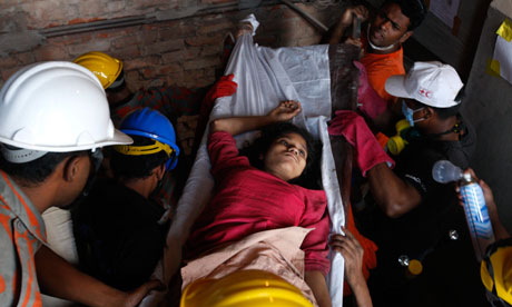 Bangladesh factory collapse survivor