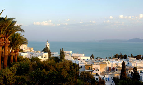 Sidi Bou Said, north of Tunis, Tunisia.