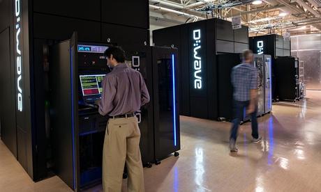 D-Wave quantum-computer