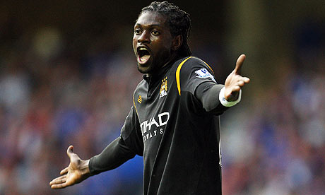 mercanary adebayor... will he punish his old team?