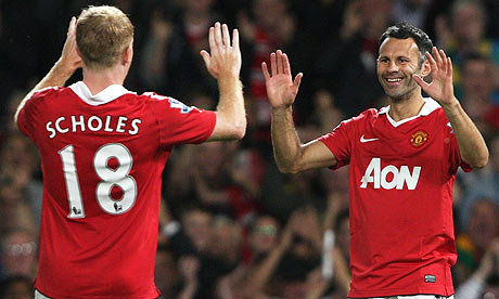 1ec8b7fae Scholes made a shocking return to Manchester United on Sunday