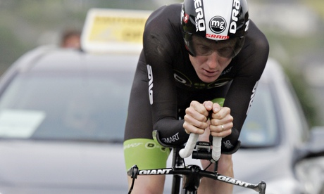 Matthew Bottrill rides for Drag2Zero and won the National 50-mile time trial earlier this month