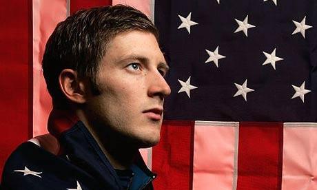 US Olympic speedskater Joey Cheek