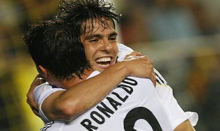 Kaka With A Wonderful Strike Made It Three For Madrid