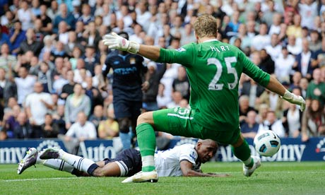 Joe Hart Spurs v Man City