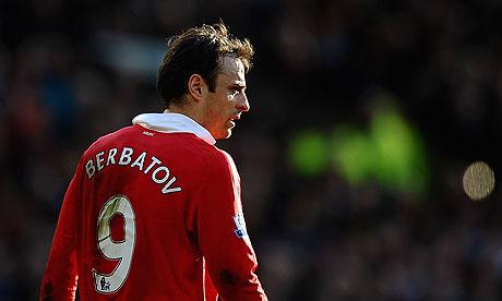 Manchester United's Dimatar Berbatov