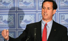 Rick Santorum in Detroit