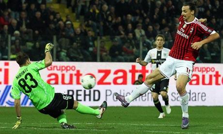 Ibrahimovic marca contra el Parma