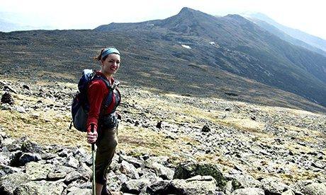 Allison Nadler, climbing every peak in New England