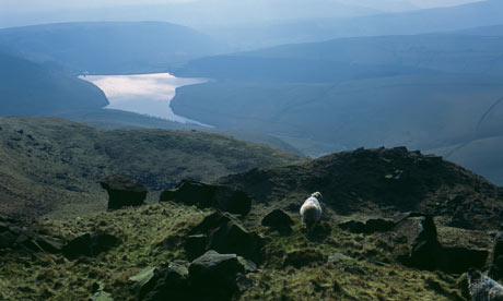 Kinder Scout, Derbyshire, Peak District
