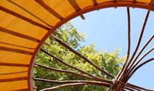 Ecovallee yurt camping, Dordogne, France