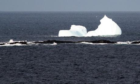 Iceberg off Newfoundland