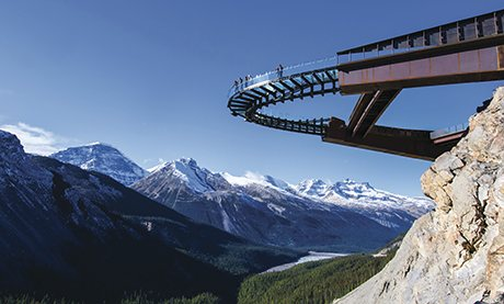 Glacier Skywalk, Alberta, Canada