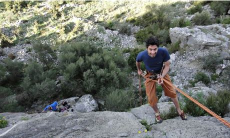 Corsica rock climbing