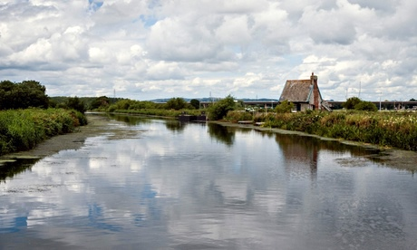 Exeter ship canal near Topsham Lock, South Devon. Photograph: Alamy