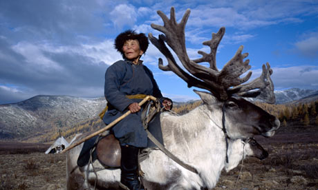 Real Shamans ride Caribou
