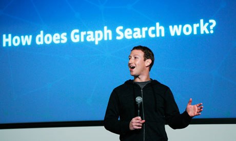 Mark Zuckerberg launches Graph Search
