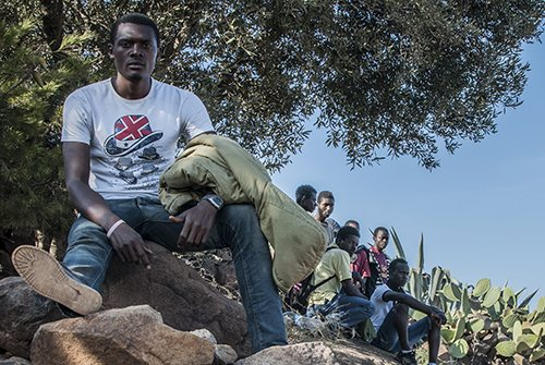 Suha Abongwa, 23, Gurugu mountains, on the border between Morocco and Melilla