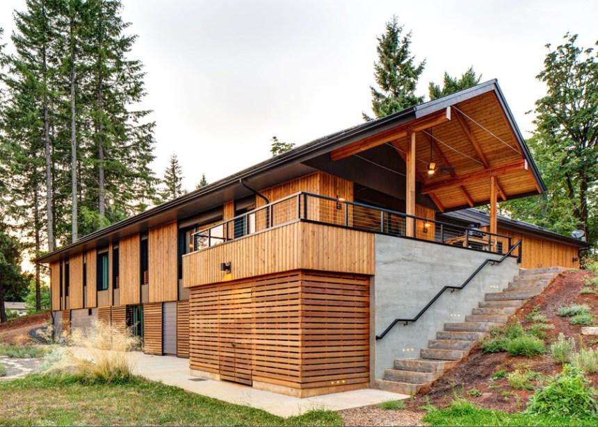 The Pumpkin Ridge Passive House