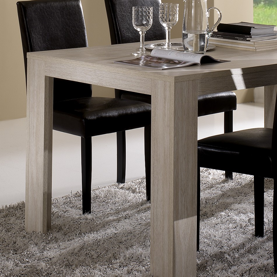 Table Contemporaine Chene Clair