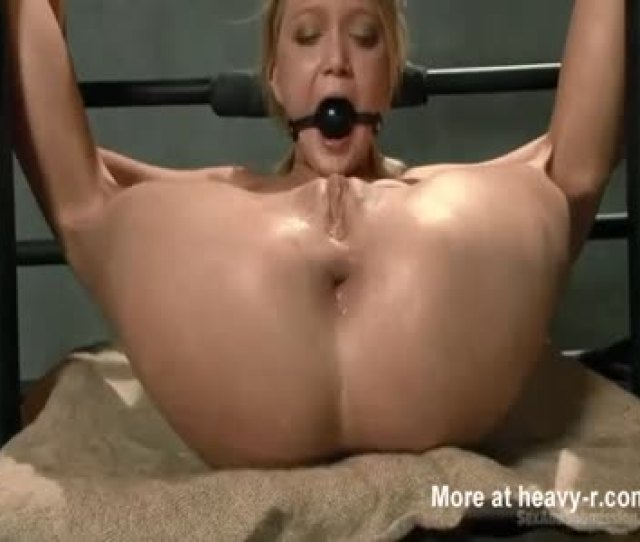 Anal Abuse For Gagged Hottie