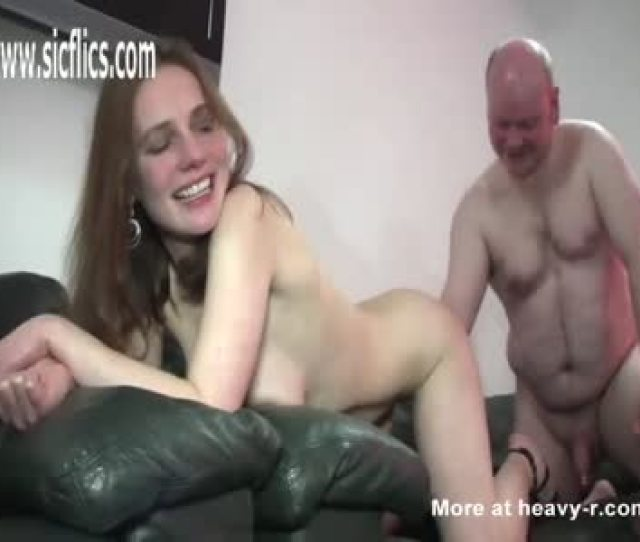 Old Fat Bald Dad Fisting Teen Daughter