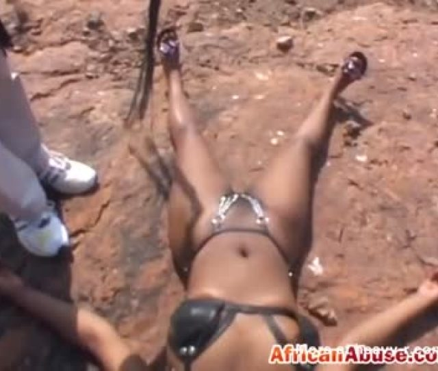 Pussy Whipping African Ebony Slave