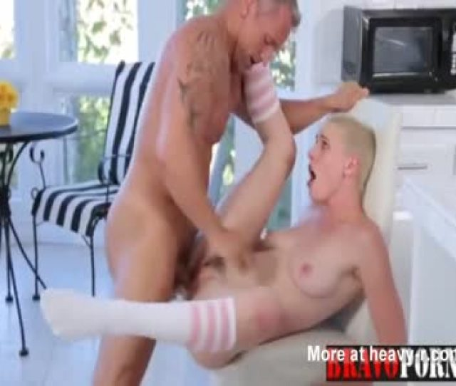 Short Haired Teen In Hardcore Fuck