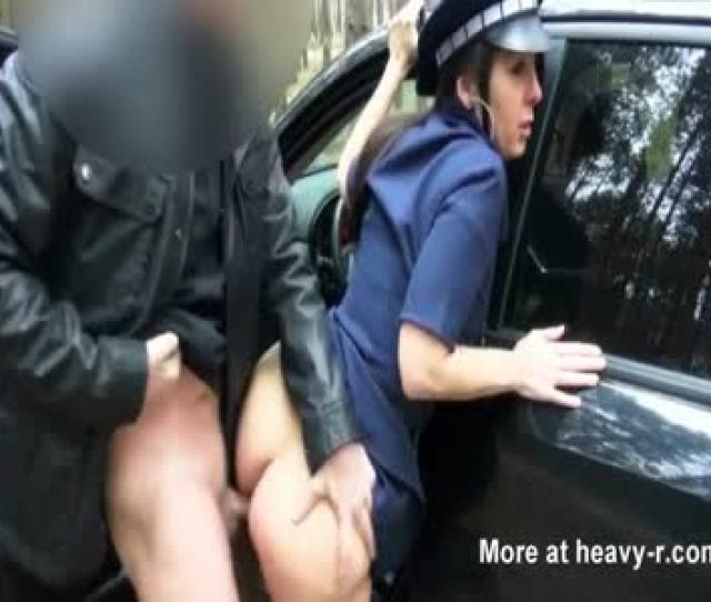 Settle Fine With Female Cop