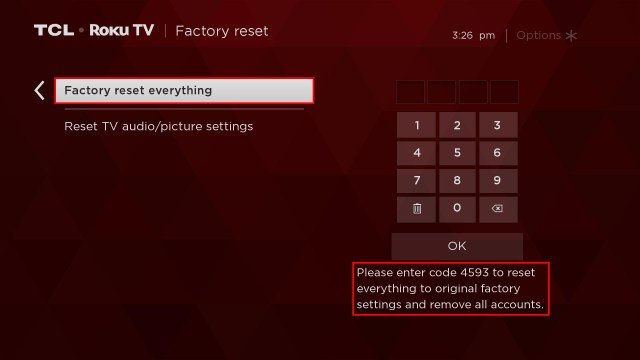TCL — How to Perform a Factory Reset on your TCL Roku TV