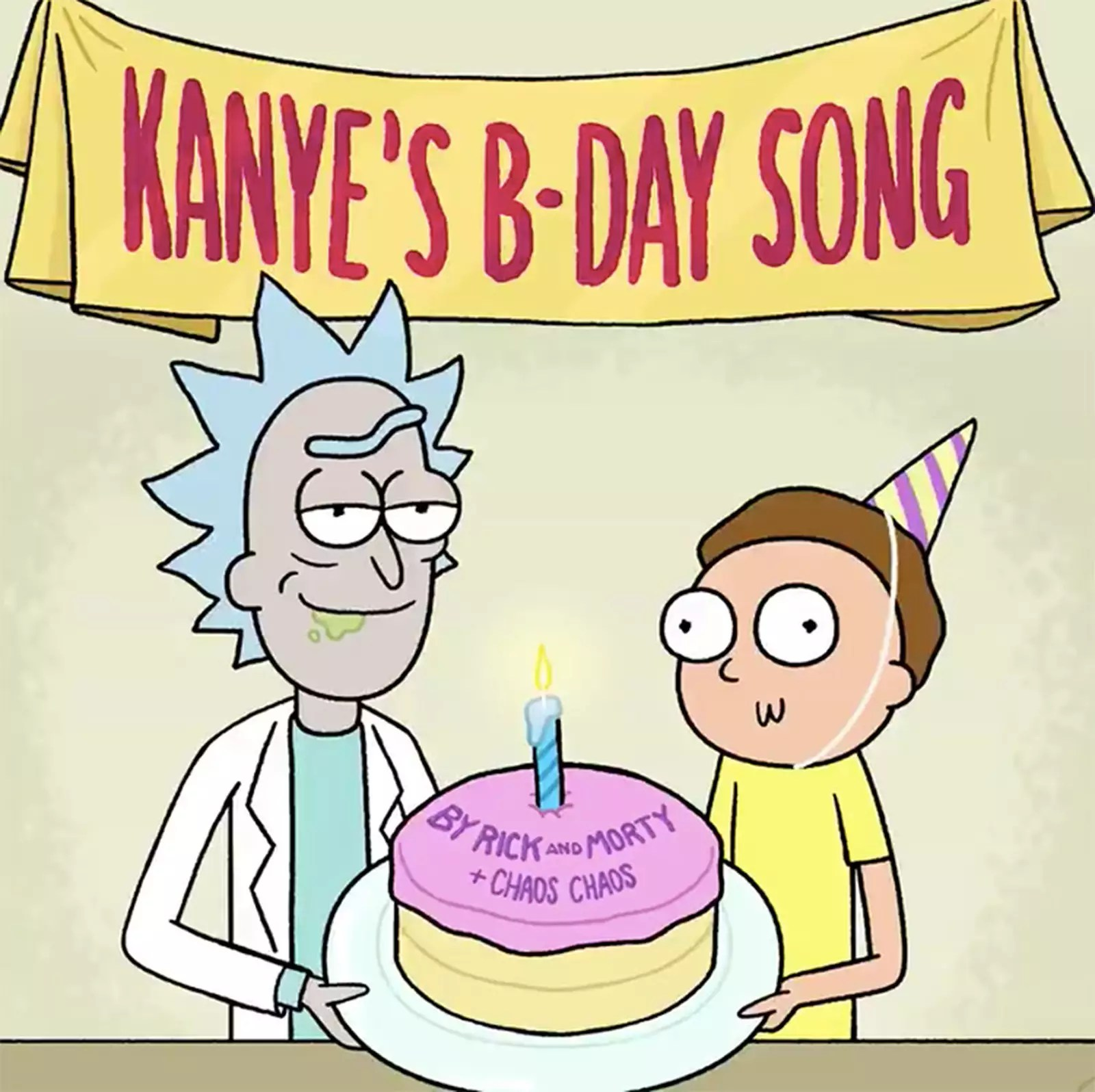 Rick And Morty Recorded A Hilarious Birthday Song For Kanye West