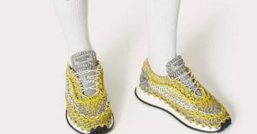 Valentino Crochets Better Than Your Grandma