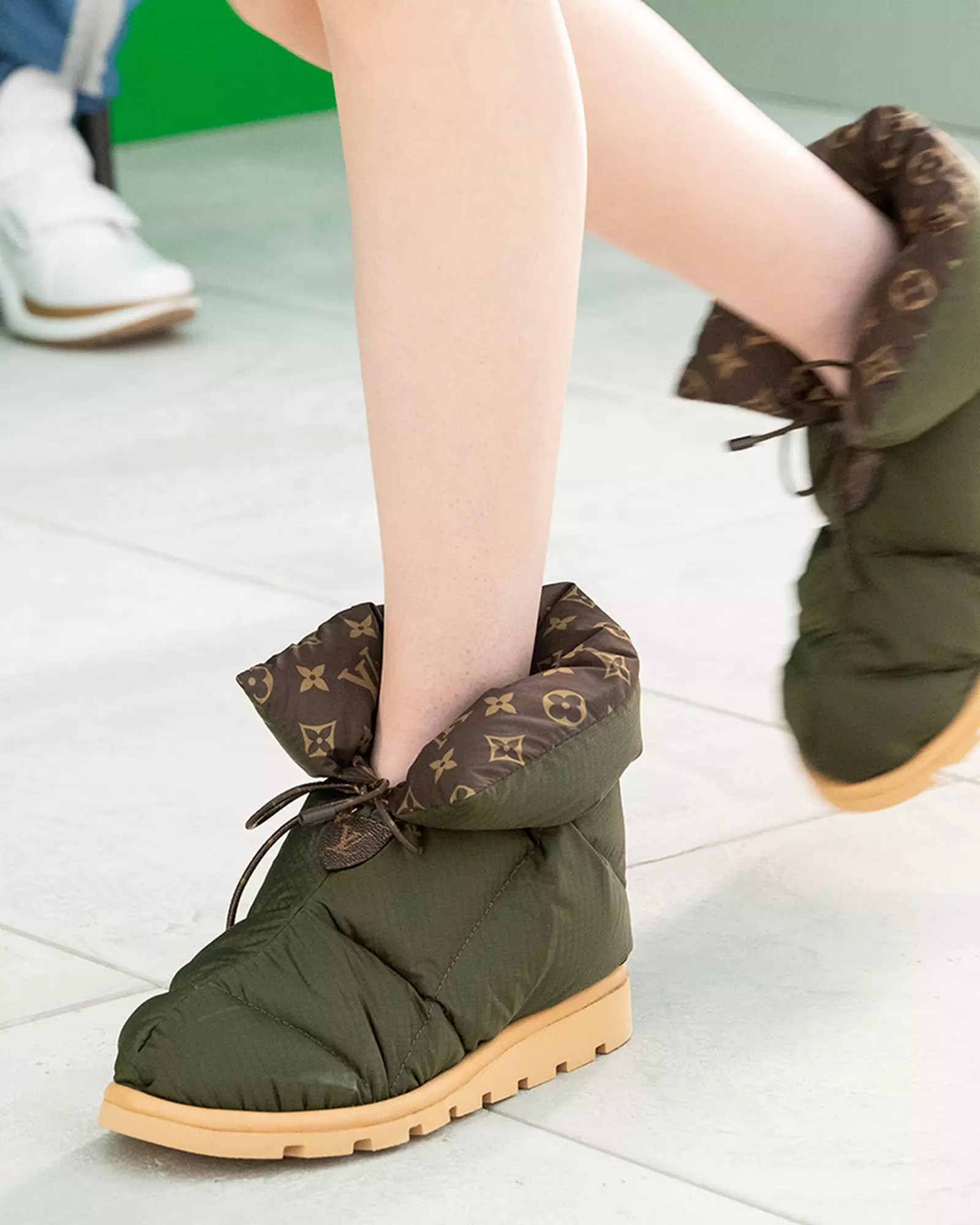 the louis vuitton pillow boot is for