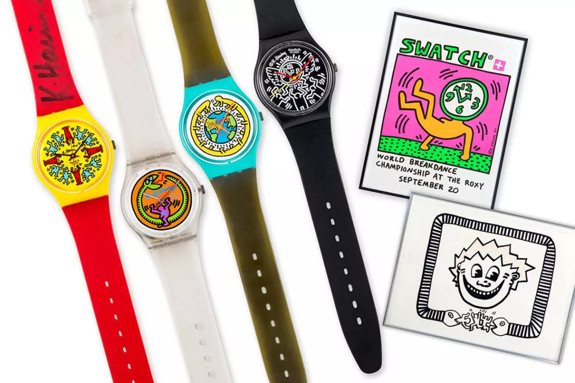 How the Keith Haring Effect Informed 2021's Best Art Watches