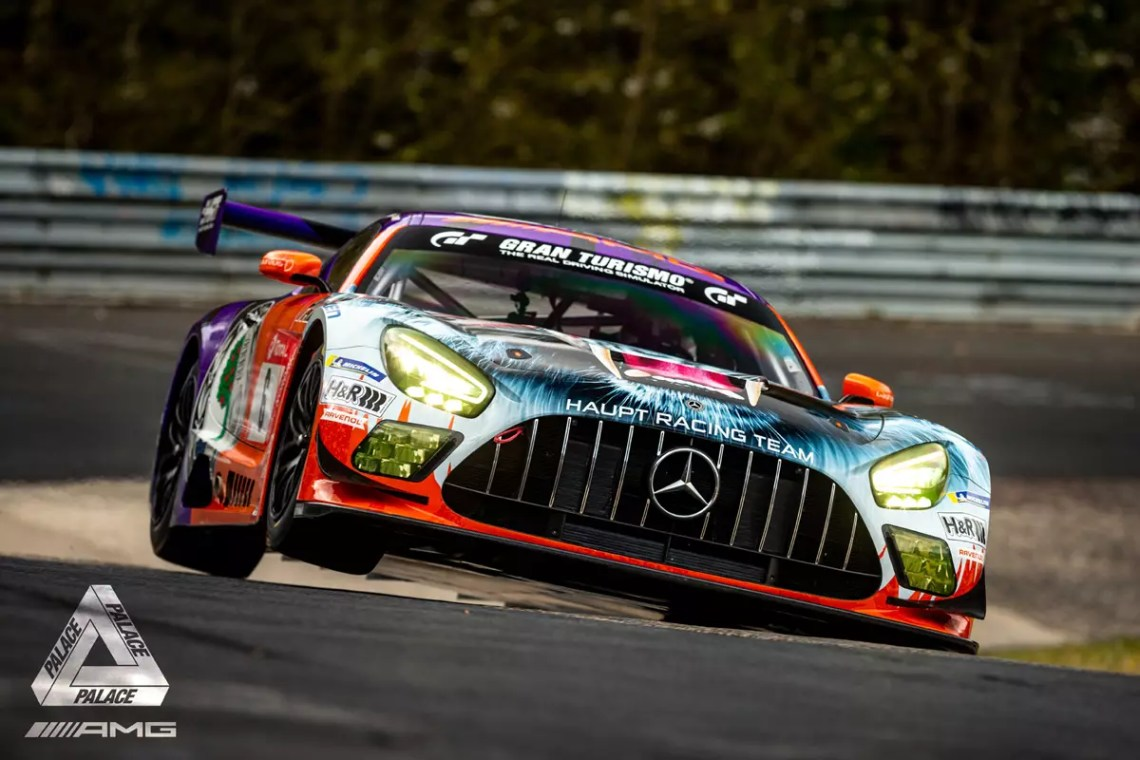 Palace and Mercedes Swap Skateboards for Tricked-Out AMG GT3