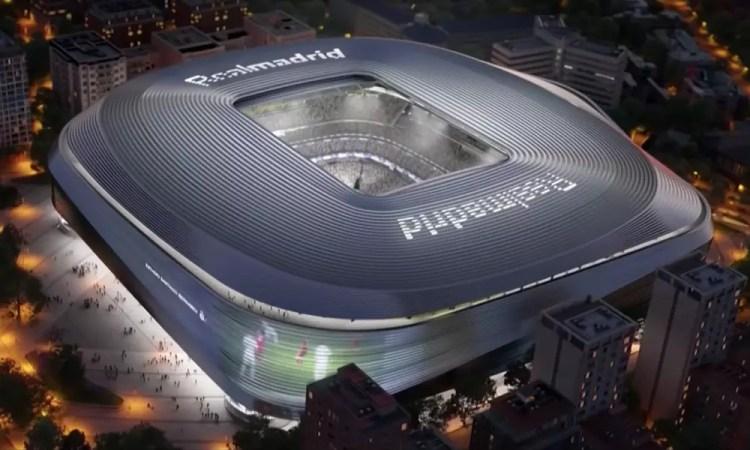 Real Madrid Reveals Plans for New Santiago Bernabéu Stadium