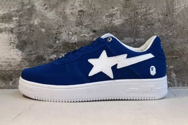 The BAPE STA Gets a Very 2000s Suede Update Just in Time for Summer