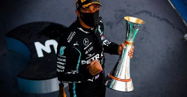 Lewis Hamilton Has a Lot of Energy to Give