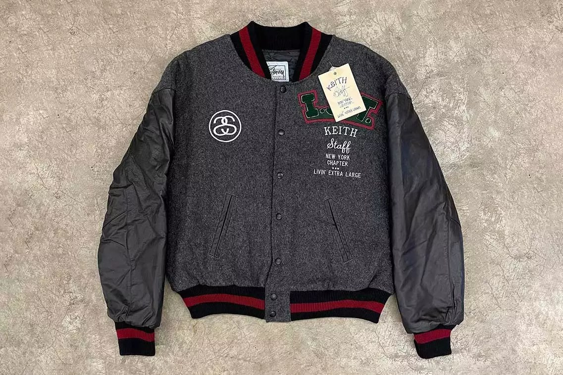 Shawn Stussy Just Unearthed Keith Haring's Would-Be Stüssy Tribe Jacket