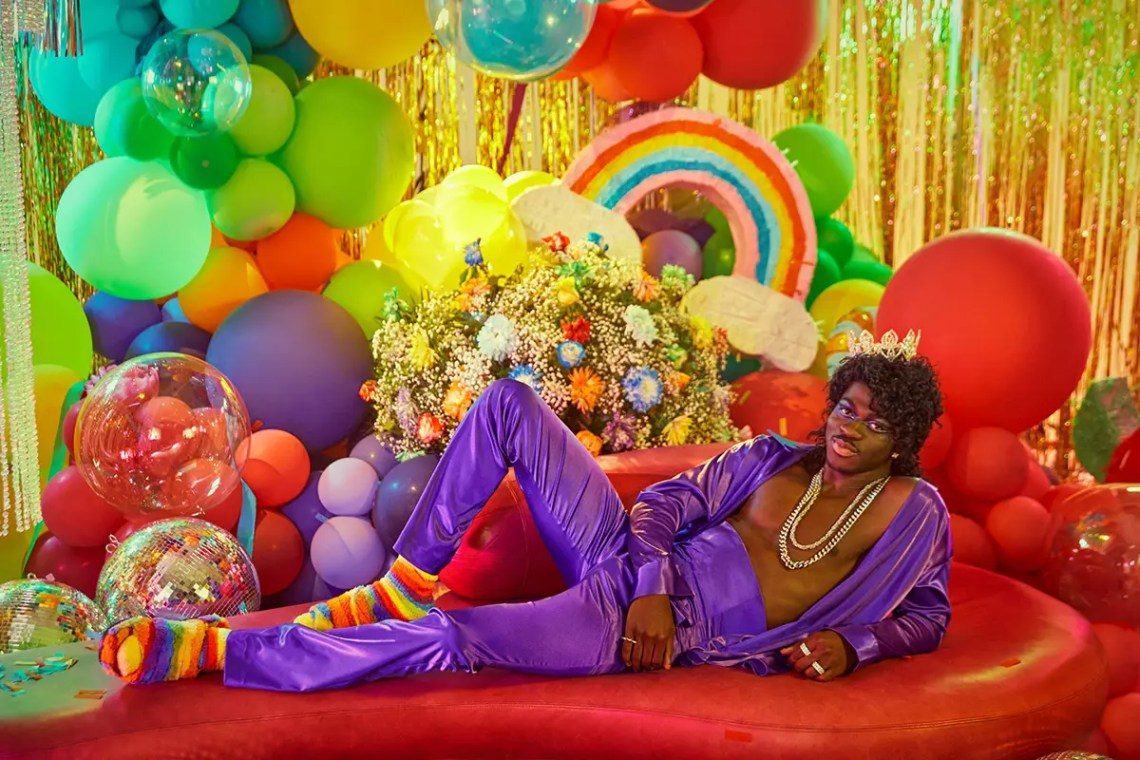 Lil Nas X in Rainbow Uggs Is the Pride Content We Need