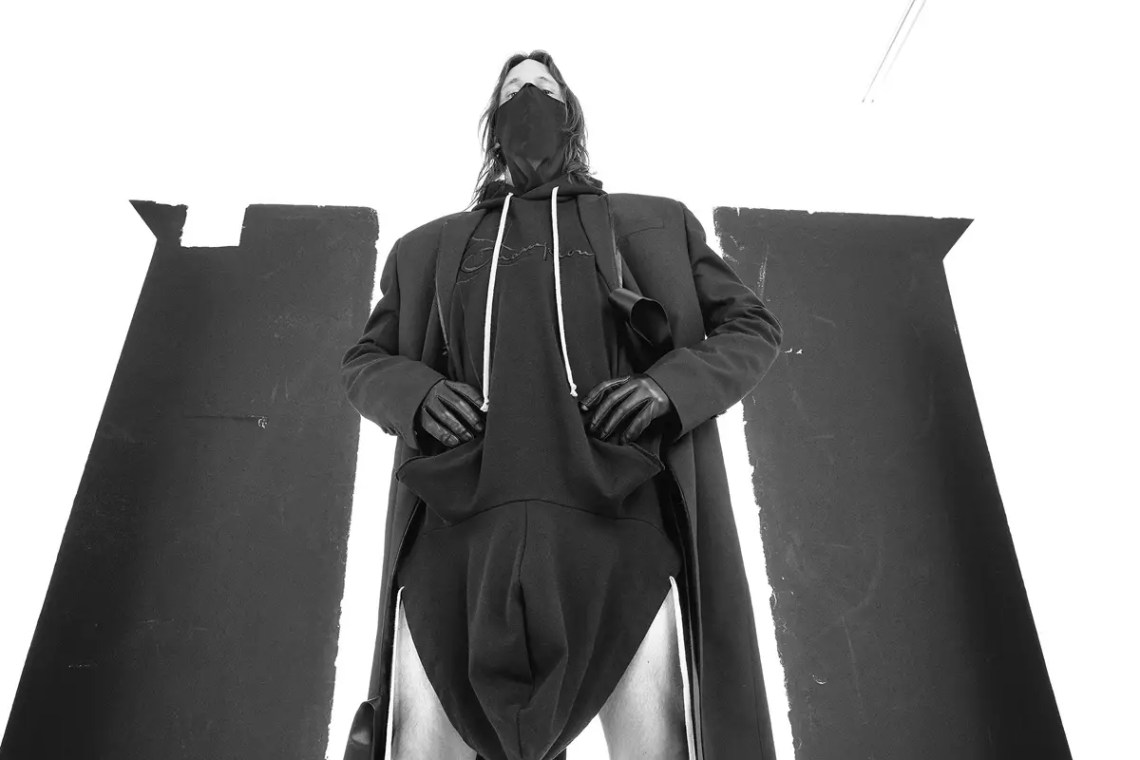 Rick Owens Just Dropped the Most Bonkers Hoodie of the Year