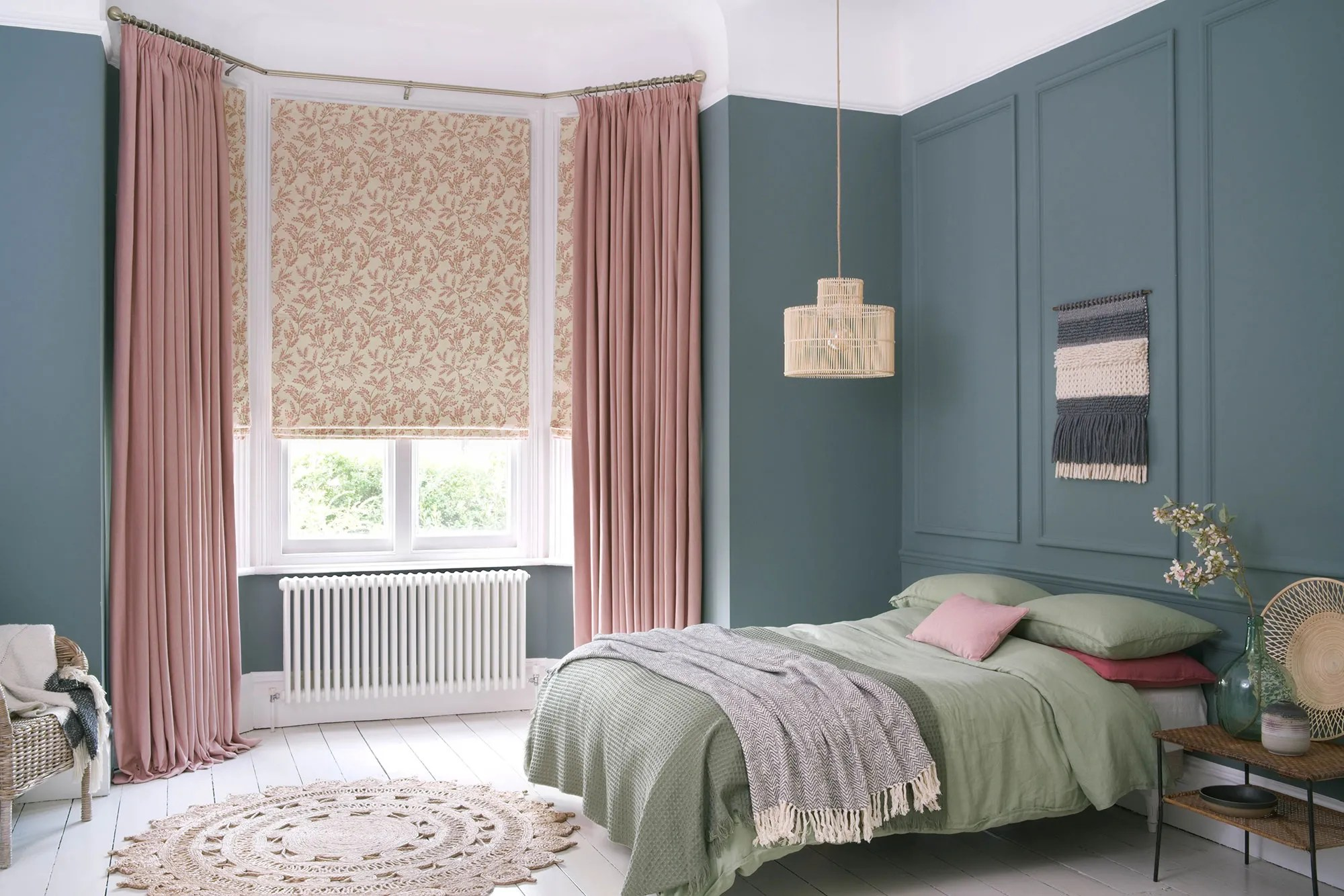 bedroom curtains made to measure in