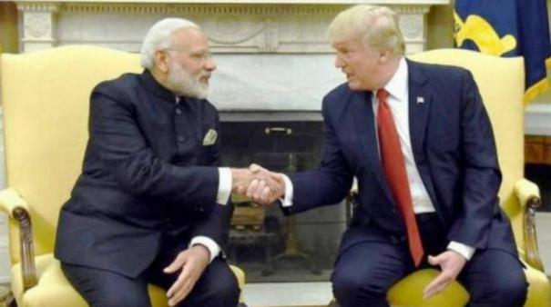 ''காஷ்மீர் விவகாரத்தில் மத்தியஸ்தம் அல்ல; உதவி தான்'' - நிலைப்பாட்டை மாற்றியது அமெரிக்கா
