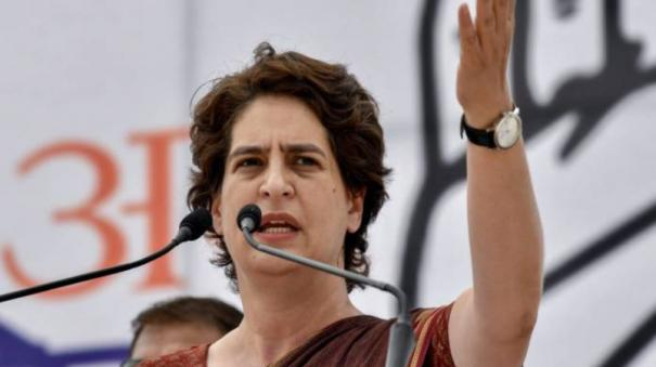 Image result for Your Job is to Improve Economy, Not Run a 'Comedy Circus': Priyanka Gandhi Slams Govt