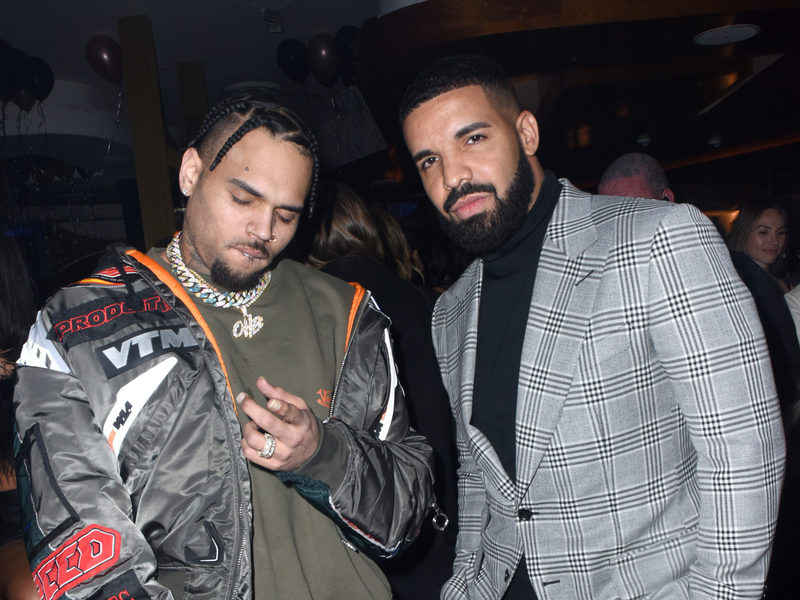 Chris Brown & Drake Promise A Hot Summer 2019 On Instagram